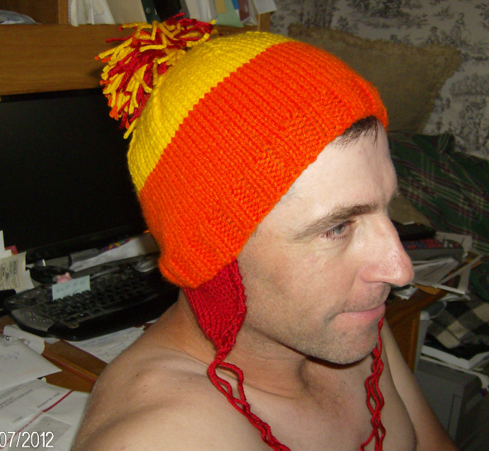 Knitting Pattern For Jayne s Hat Firefly : Yarn Along -11 July 2012 At Home With Us
