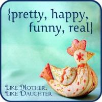 pretty, happy, funny, real