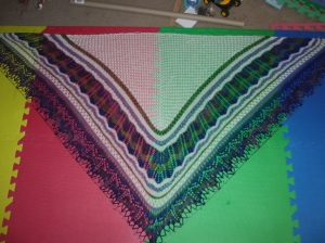 yarn along 16 april