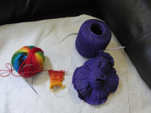 Yarn Along -15 May